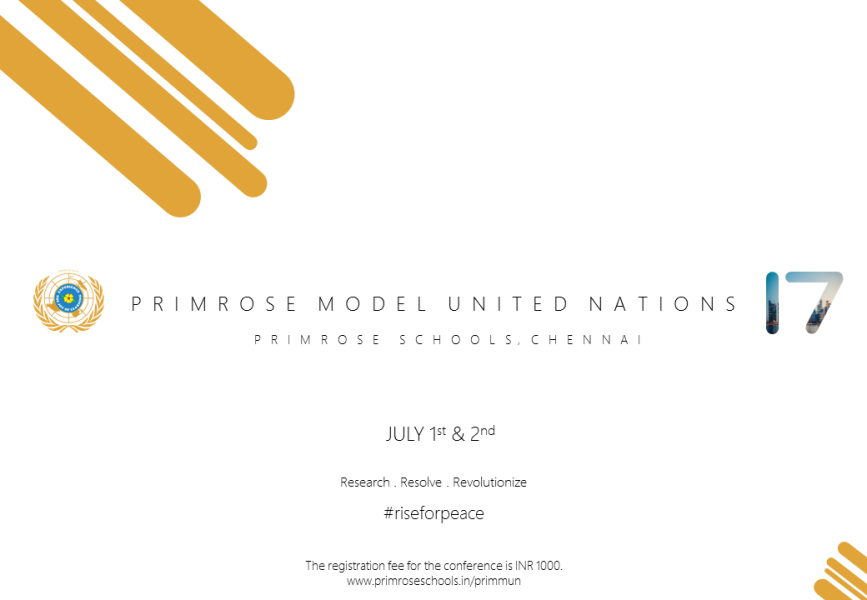 Primrose Model United Nation's Conference